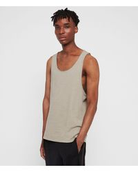 AllSaints Figure Tanktop Mens - Grau