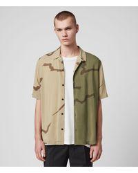AllSaints Invasion Shirt - Green