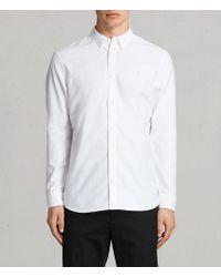 AllSaints - Huntingdon Shirt - Lyst