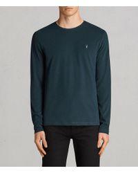 AllSaints - Brace Long Sleeve Tonic Crew T-shirt - Lyst