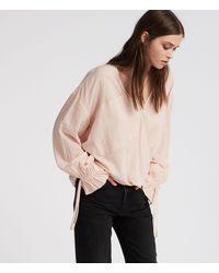 AllSaints Penny Top - Pink