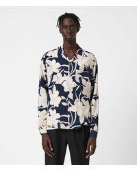 AllSaints - Men's Jardin Shirt - Lyst