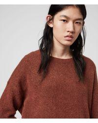 AllSaints Rufa Sweater - Red