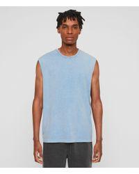 AllSaints - Acetic Sleeveless Crew T-shirt - Lyst