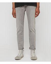 AllSaints Carter Straight Jeans - Grey