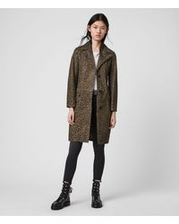 AllSaints Leo Mac Womens - Brown