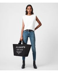 AllSaints Printed Clarendon Womens - Black