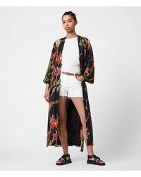 AllSaints Carine Nolina Kimono Womens - Black