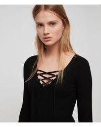 AllSaints - Tamsin Dress - Lyst