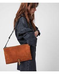 AllSaints Sheringham Shoulder Womens - Brown
