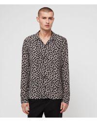 AllSaints - Piero Shirt - Lyst