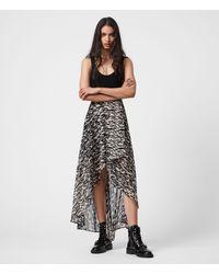 AllSaints - Slvina Fuego Skirt Womens - Lyst