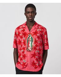 AllSaints Guadalupe Shirt - Pink