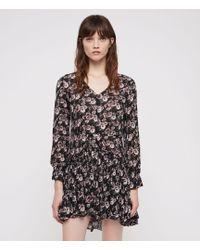AllSaints - Alia Odile Dress - Lyst