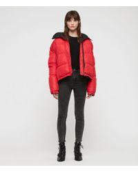 AllSaints - Nala Reversible Puffer Coat - Lyst
