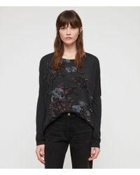 AllSaints - Rhosyn Wave T-shirt - Lyst