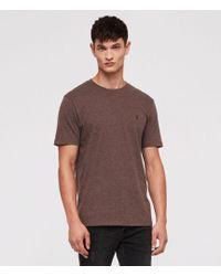 AllSaints - Brace Tonic Slim Fit Crewneck T-shirt - Lyst