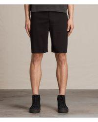 AllSaints Colbalt Chino Shorts - Black