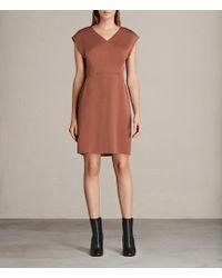 AllSaints - Elsie Dress - Lyst