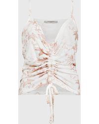 AllSaints Evolution Rina Vest - White