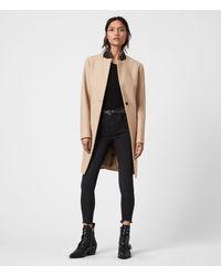 AllSaints Leni Coat Womens - Multicolour