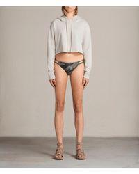 AllSaints | Cassia Camo Bikini Bottoms | Lyst