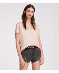 AllSaints - Emelyn Tonic T-shirt - Lyst