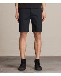 AllSaints Colbalt Chino Shorts - Blue