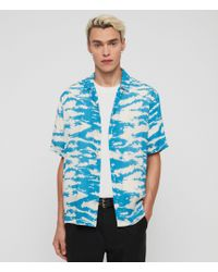AllSaints Valais Shirt - Blue
