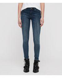 AllSaints Grace Skinny Jeans - Blue