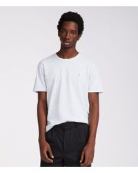 AllSaints - Ossage Crew T-shirt - Lyst