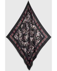 AllSaints Allinthis Silk Bandana - Black