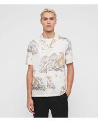 AllSaints Kayan Shirt - White