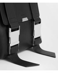 AllSaints - Clip Leather Mini Backpack - Lyst