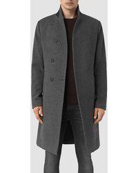 AllSaints - Olson Coat - Lyst