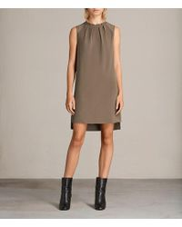 AllSaints - Jay Dress - Lyst