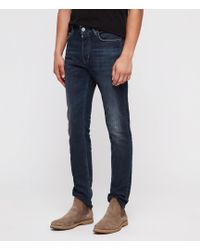 AllSaints Rex Slim Jeans, Indigo - Blue