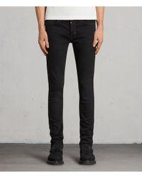 AllSaints - Balboa Rex Straight Skinny Jeans - Lyst
