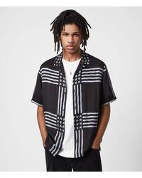 AllSaints - Union Shirt - Lyst