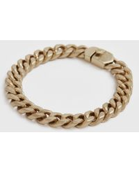 AllSaints Women's Curb Gold-tone Chain Bracelet Gold - Metallic