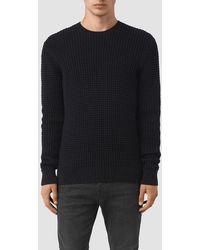 AllSaints - Kargg Crew Sweater Usa Usa - Lyst