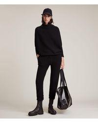 AllSaints Women's Ridley Wool Cashmere Blend Joggers - Black