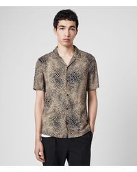 AllSaints Diffusion Shirt - Brown