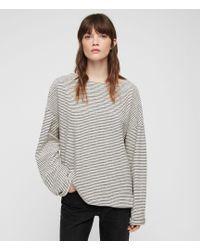 AllSaints Adelise Stripe Top - Multicolor