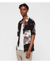 AllSaints - Hakone Shirt - Lyst
