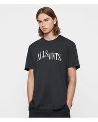 AllSaints Dropout Crew T-shirt - Black
