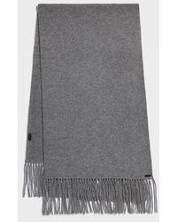 AllSaints - Boiled Wool Scarf - Lyst