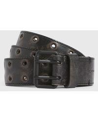 AllSaints Lincoln Belt Mens - Black