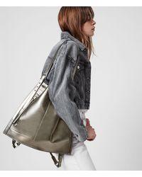 AllSaints Alpha Backpack Womens - Metallic