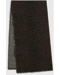 AllSaints Rvrsbl Leopard Scarf Womens - Mehrfarbig